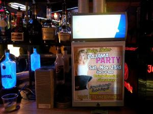 Daisy Duke's announces Pajama Party.