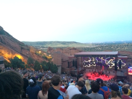 Umphrey's McGee @ Red Rocks Amphitheater Morrison, CO
