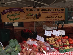Monroe Farm stand