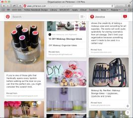 My organization board on Pinterest.com