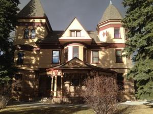 The beautiful historic Ivinson Mansion